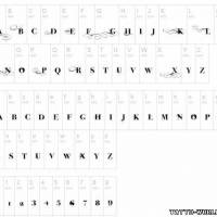 Шрифты для татуировок