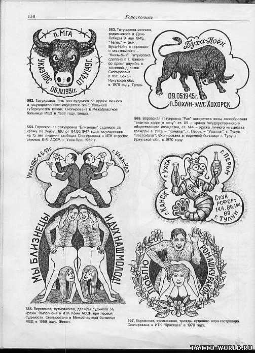 Татуировка овен