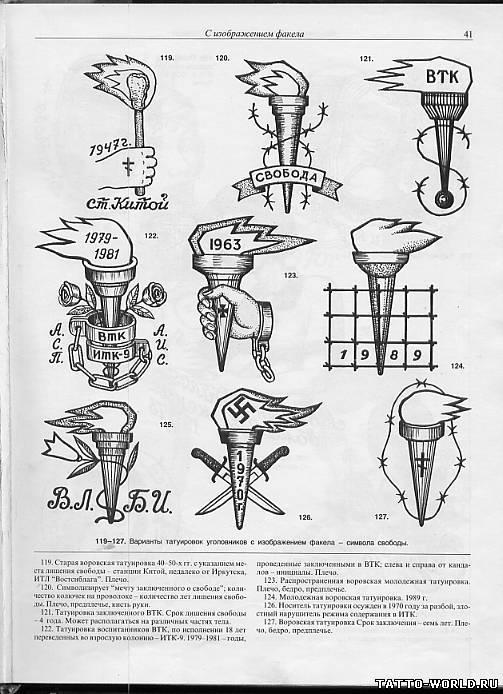 Татуировка фото и значения