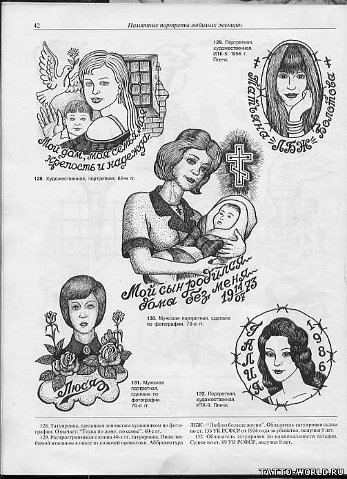 Женские татуировки зоновские фото
